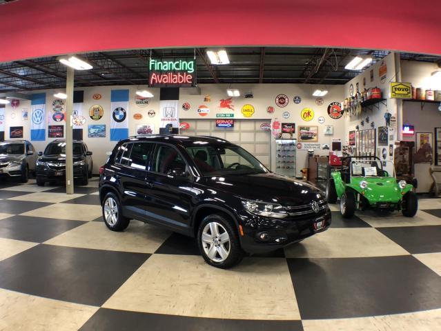 2016 Volkswagen Tiguan 2.0TSI COMFORTLINE SPORT PKG AWD LEATHER PANO/ROOF CAMERA 55K