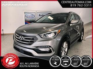 Used 2017 Hyundai Santa Fe Sport Ultimate ( frais vip 395$ non inclus) for sale in Rouyn-Noranda, QC