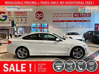 Used 2015 BMW 4 Series 428i XDRIVE COUPE for sale in Richmond, BC