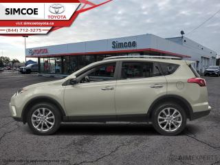 Used 2017 Toyota RAV4 AWD Limited  - Certified - Navigation - $189 B/W for sale in Simcoe, ON