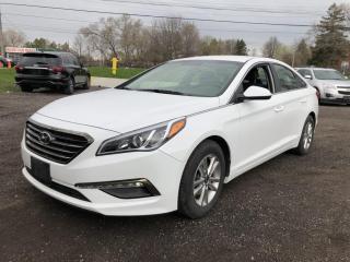 Used 2017 Hyundai Sonata SONATA! BACK-UP CAMERA! ALLOYS! for sale in Mississauga, ON