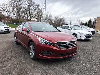 Used 2016 Hyundai Sonata BACK-UP CAMERA! ALLOYS! AUTOMATIC for sale in Mississauga, ON