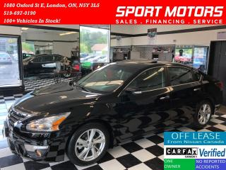 Used 2015 Nissan Altima 2.5 SL TECH+Camera+GPS+Blind Spot+Accident Free for sale in London, ON