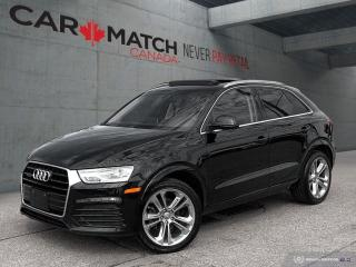 Used 2018 Audi Q3 PROGRESSIVE / NO ACCIDENTS for sale in Cambridge, ON