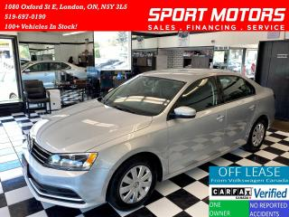 Used 2016 Volkswagen Jetta Trendline+Camera+A/C+HTD Seats+Accident Free for sale in London, ON