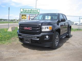 Used 2018 GMC Canyon 4WD All Terrain w/Cloth for sale in Thunder Bay, ON