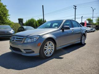 Used 2011 Mercedes-Benz C-Class 4MATIC *BLUETOOTH*TOIT*SIÈGES CH*  69$/SEM for sale in St-Jérôme, QC