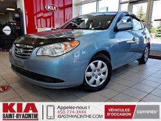 Used 2010 Hyundai Elantra GL ** Sièges chauffants + A/C for sale in St-Hyacinthe, QC