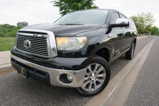 Used 2010 Toyota Tundra PLATINUM CREWMAX / DEALER SERVICED /  ARE BED CAP for sale in Etobicoke, ON