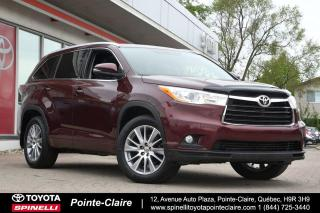 Used 2015 Toyota Highlander XLE AWD CUIR, GPS, MAGS for sale in Pointe-Claire, QC