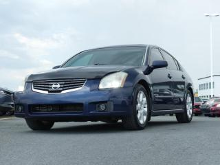 Used 2008 Nissan Maxima V6 / TOIT OUVRANT / INTERIEUR EN CUIR for sale in St-Georges, QC