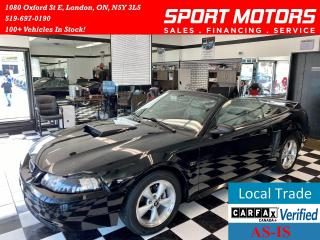 Used 2000 Ford Mustang GT+Automatic+2 Sets of Rims+Leather+PWR Options for sale in London, ON