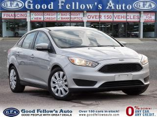 Used 2017 Ford Focus SE MODEL, 2.0L 4CYL, REARVIEW CAMERA, HEATED SEATS for sale in Toronto, ON