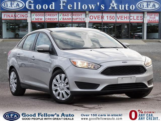 2017 Ford Focus SE MODEL, 2.0L 4CYL, REARVIEW CAMERA, HEATED SEATS