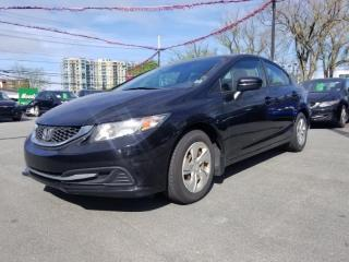 Used 2014 Honda Civic LX for sale in Halifax, NS