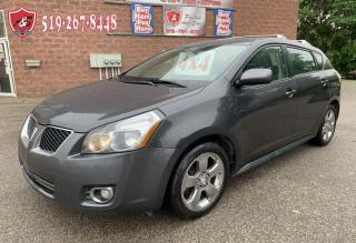 Used 2009 Pontiac Vibe TOYOTA/4WD/1.8LL/SAFETY+WARRANTY INCLUDED for sale in Cambridge, ON