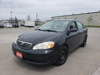 Used 2006 Toyota Corolla 4 door, Auto, Low km, 3/Y warranty availabl for sale in Toronto, ON