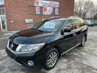 Used 2014 Nissan Pathfinder SV/4X4/7 SEATS/ONE OWNER/NO ACCIDENT/CERTIFIED for sale in Cambridge, ON