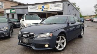 Used 2011 Audi A4 2.0T Premium Plus for sale in Etobicoke, ON