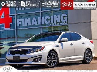 Used 2015 Kia Optima SX Turbo | Navigation | Blindspot Alert | Leather for sale in St Catharines, ON