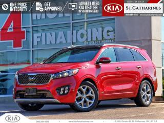 Used 2017 Kia Sorento SX Turbo | Navigation | Leather | Panoramic Roof for sale in St Catharines, ON