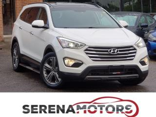 Used 2014 Hyundai Santa Fe XL LIMITED | 6 PASS | TOP OF THE LINE | NO ACCIDENTS for sale in Mississauga, ON