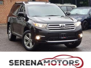 Used 2013 Toyota Highlander LIMITED | 7 PASS. | TOP OF THE LINE | NO ACCIDENTS for sale in Mississauga, ON