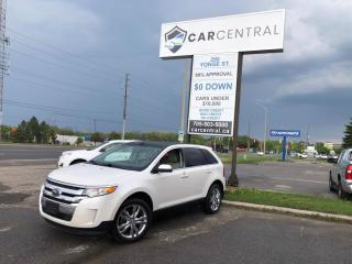 Used 2013 Ford Edge Limited | AWD | 300A | LEATHER | BACK UP CAM | PAN for sale in Barrie, ON
