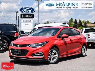 Used 2017 Chevrolet Cruze LT for sale in Aurora, ON