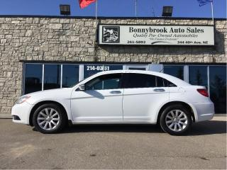 Used 2012 Chrysler 200 Touring low Kms for sale in Calgary, AB