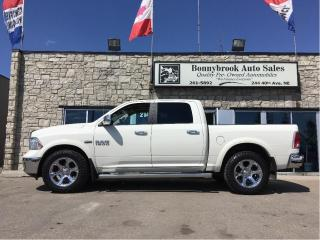 Used 2016 RAM 1500 Laramie 4X4 Leather Navigation backup camera for sale in Calgary, AB