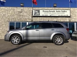 Used 2016 Dodge Journey R/T All wheel drive Leather Navigation for sale in Calgary, AB