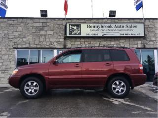 Used 2007 Toyota Highlander for sale in Calgary, AB