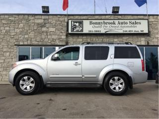Used 2007 Nissan Pathfinder LE leather sunroof 7 passenger for sale in Calgary, AB