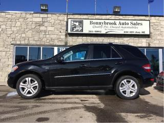 Used 2011 Mercedes-Benz ML-Class ML 350 BlueTEC Leather Navigation backup camera for sale in Calgary, AB