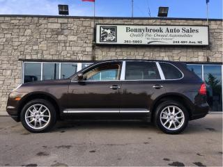 Used 2010 Porsche Cayenne S  Navigation leather Awd p/sunroof for sale in Calgary, AB