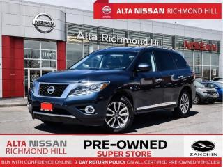 Used 2014 Nissan Pathfinder SL   Leather   Rear Seated   Remote Start   Navi for sale in Richmond Hill, ON