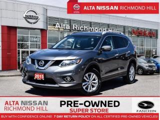 Used 2015 Nissan Rogue SV    Family Tech   7 Pass   Pano   360 CAM   Navi for sale in Richmond Hill, ON