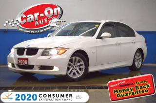 Used 2006 BMW 325 xi LEATHER SUNROOF HTD SEATS BLUETOOTH for sale in Ottawa, ON