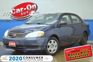Used 2004 Toyota Corolla CE A/C CRUISE POWER GROUP for sale in Ottawa, ON