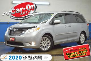 Used 2014 Toyota Sienna XLE 7 SEAT LEATHER REAR CAM HTD SEATS FULL PWR GRP for sale in Ottawa, ON