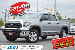 Used 2018 Toyota Tundra SR5 Plus 5.7L V8 4X4 REAR CAM TOW PKG 27,000 KM AD for sale in Ottawa, ON