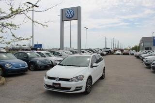 Used 2016 Volkswagen Golf Sportwagen 1.8 TSI Comfortline for sale in Whitby, ON