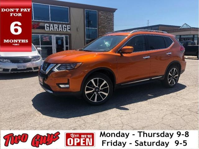 2017 Nissan Rogue SL | Nav | Panoroof | AWD | Htd Leather | Pwr Seat