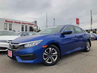 Used 2016 Honda Civic Sedan LX - Bluetooth - Rear Camera for sale in Mississauga, ON