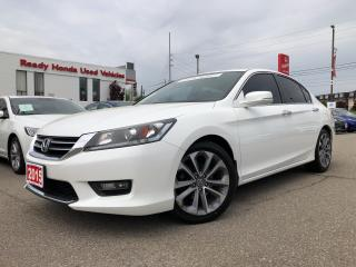 Used 2015 Honda Accord Sedan Sport - Sunroof - Rear Camera for sale in Mississauga, ON