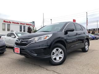 Used 2015 Honda CR-V LX - Heated Seats - Bluetooth - Rear Camera for sale in Mississauga, ON