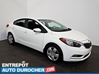 Used 2016 Kia Forte LX AIR CLIMATISÉ - Sièges Chauffants for sale in Laval, QC