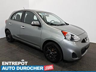 Used 2015 Nissan Micra Krom Edition  AIR CLIMATISÉ - Caméra de Recul for sale in Laval, QC