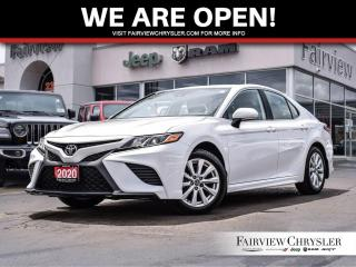 Used 2020 Toyota Camry SE l HEATED SEATS l BACK-UP CAM l for sale in Burlington, ON